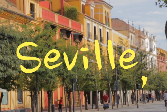 Image of Seville, Spain.